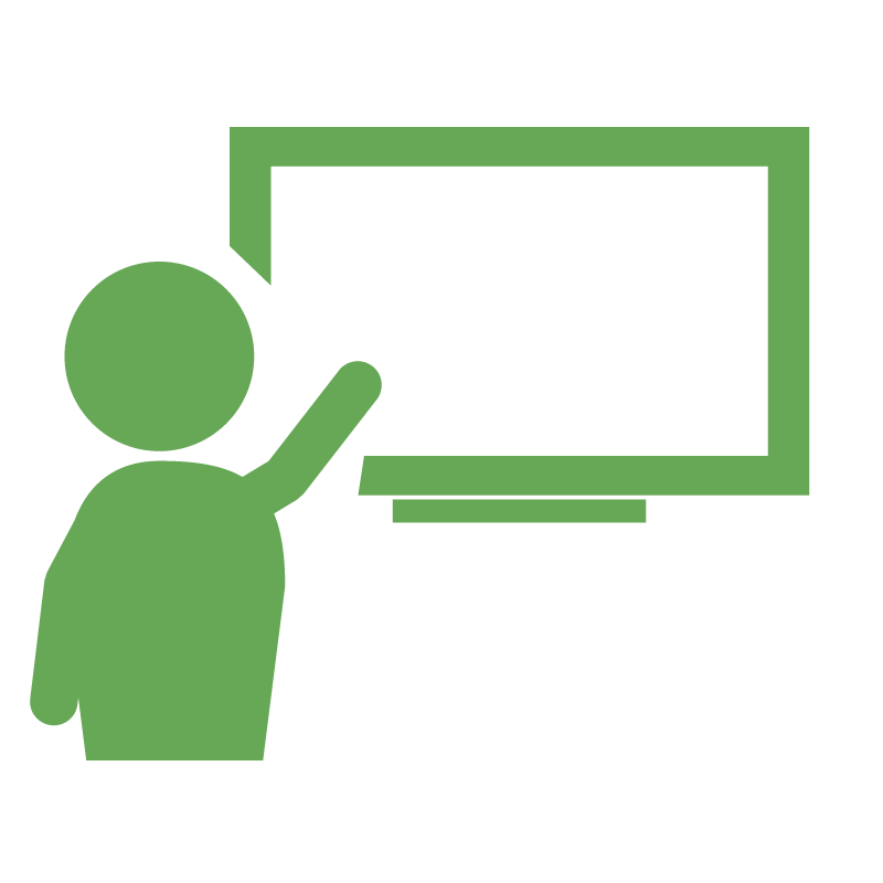 Classroom Learning Icon