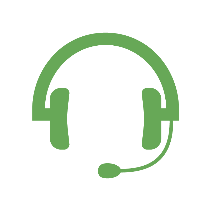 Headset icon for Webinars Link